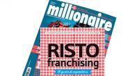 Segnaliamo che è in edicola, in omaggioal numero di giugno della rivista Millionaire, la guida RISTO franchising. L'inserto, curato daun team di specialisti del franchising, illustralo stato della ristorazione in
